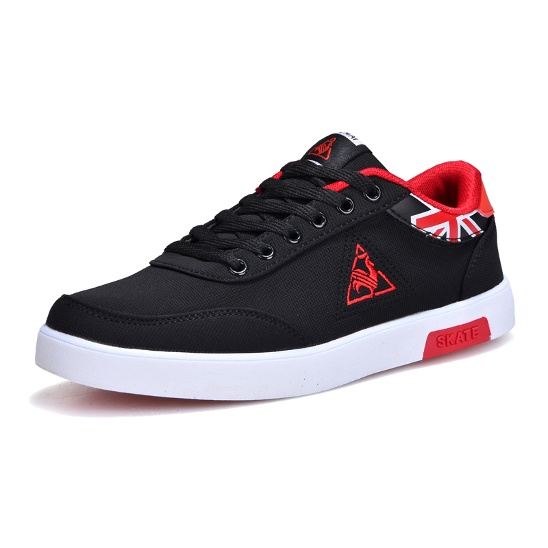 2018 new mens Casual Shoes canvas shoes for men Lace-up Breathable fashion summer autumn Flats fashion Male shoes Man sneakers