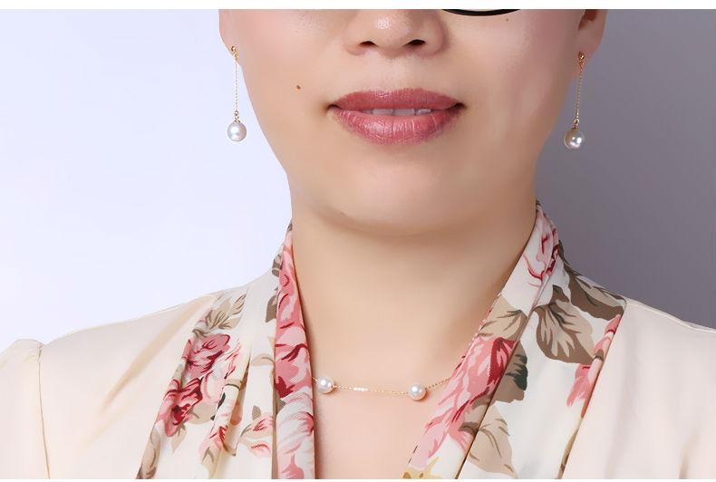 gold akoya pearl earrings jewelry 100