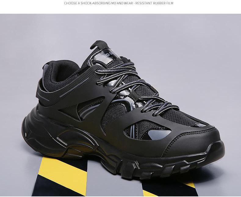 Men Sneakers High Top Running Shoes