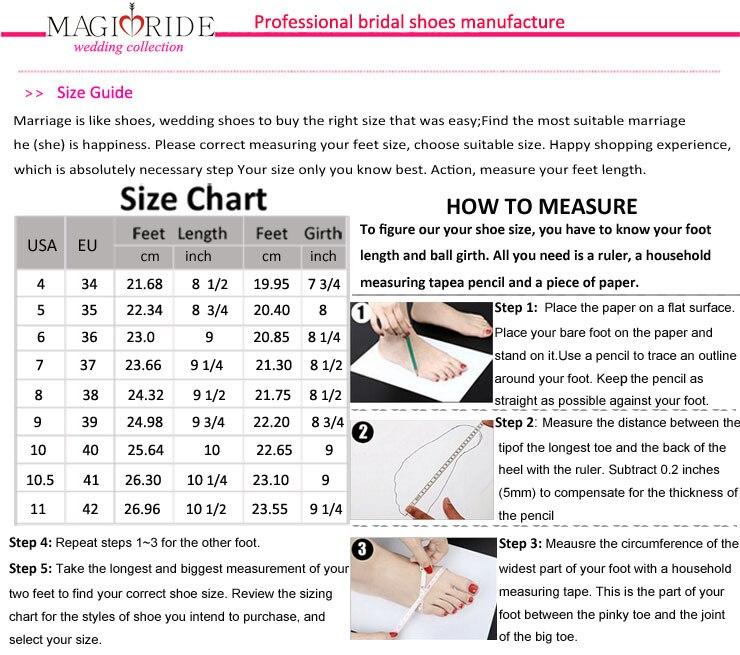 2015wedding shoes size
