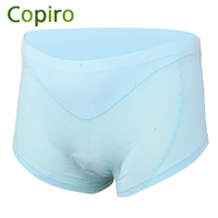 Copiro Women 3D Silicone Pad Cycling Shorts Road Mountain Bike Shorts Shockproof Riding Mtb Underwear Bicycle