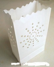 100pcs sunshine pattern 26*15*9cm fire-retardant Luminaries Candle Bag BBQ wedding party decoration