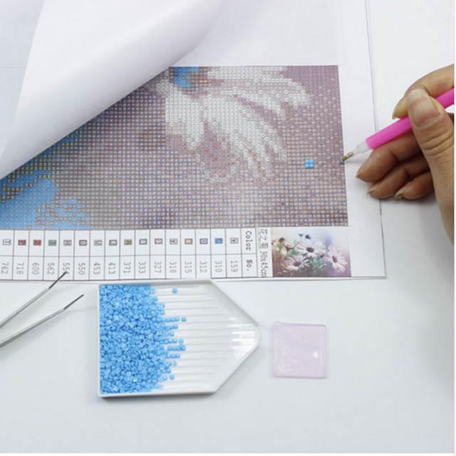 Online Shop 5D DIY Diamond Painting Full Square Crystal Rhinestone Art  Needlework Mosaic Embroidery Cross Stitch Kits Cartoon Tinker Bell  0ddd43989009