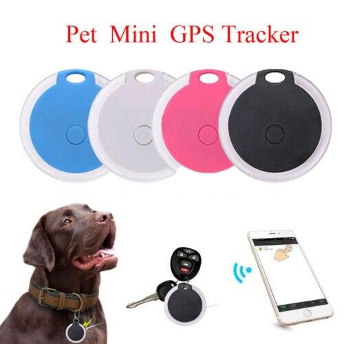 Multi-função Sem Fio Bluetooth Chave Animal de Estimação Mini Rastreador GPS Localizador de Dispositivo Anti Perda 3E05