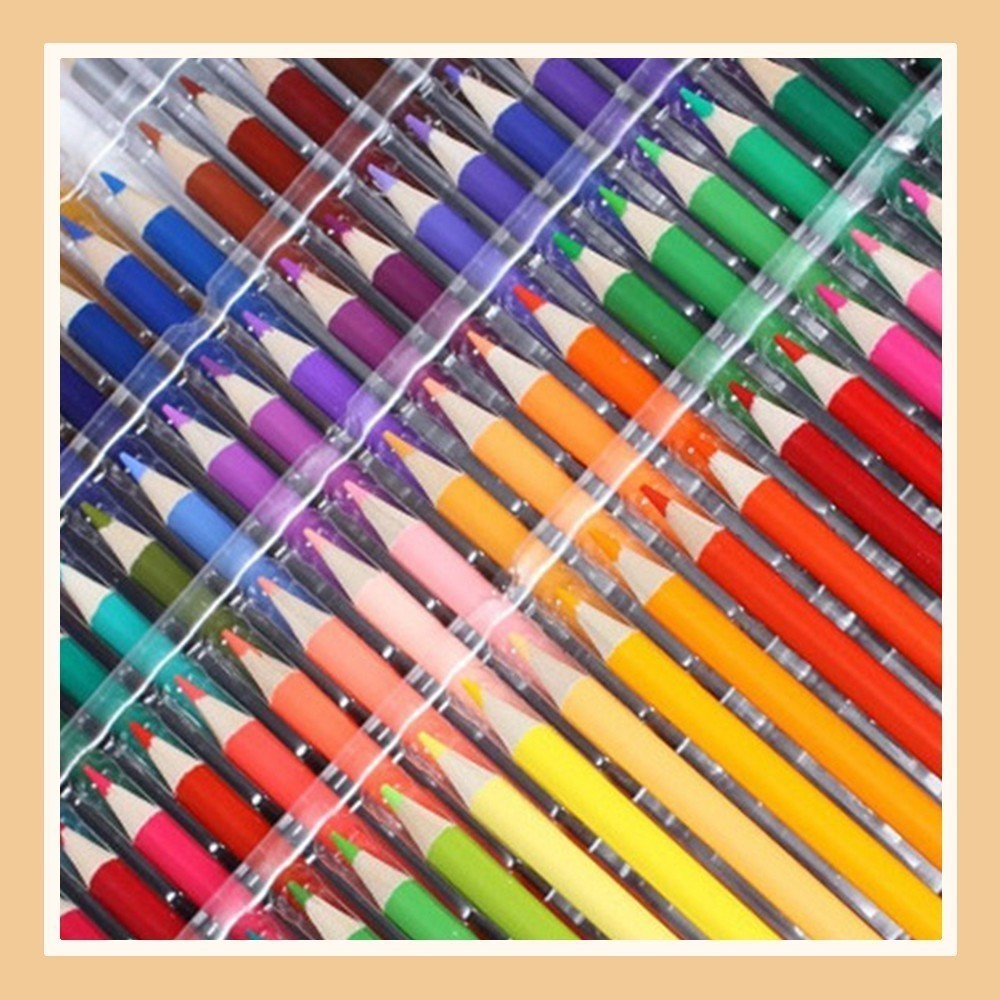 Practical 72 color Cartoon color pen graffiti oily water-insoluble cute kawaii pencil drawing tools painting supplies best 72 color cartoon color pen graffiti oily water insoluble cute kawaii pencil drawing tools painting supplies