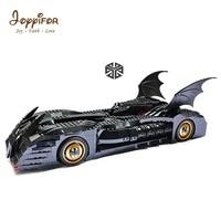 Joyyifor 1045pcs Super Heroes Batman Batmobile Ultimate Collectors Edition 7116 Model Building Block Toys Bricks Compatible