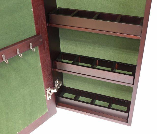 Online-Shop HLC Wand Montiert Locking Holz Schmuck Schrank Schrank ...
