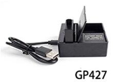 Двойной зарядное устройство для GoPro Hero 5 с аккумуляторной батареи отверстием для Go Pro Hero 5 камеры аксессуары gp427