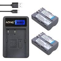 AOPULY 2 pz EN-El3e EN El3e ENEL3e 2400 mAh Fotocamera bateria Batterie AKKU + lcd caricatore usb per nikon d30 d50 d70 d90 d70s