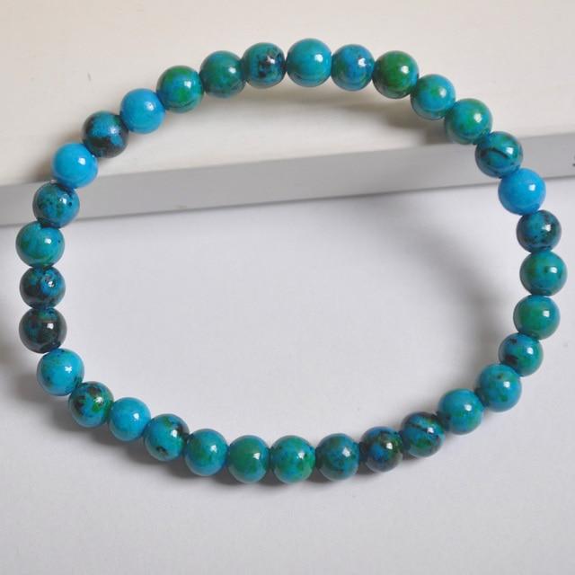 Bracelet Chrysocolle Malachite
