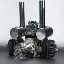 DLA112 Procesado CNC Motor De Gasolina/112CC Motor de Gasolina para Aviones de Gas con Cilindros de Doble y NSK Teniendo