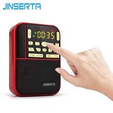 Fm-Pocket Radios Mini Portable Speaker Fm-Receiver Fashion-Band Micro-Sd Mp3 Tf Usb JINSERTA