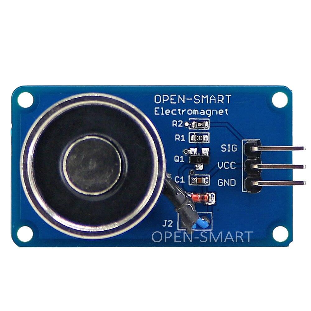 Открытый умный Электрический Магнитный подъемник DC5V / 10N соленоидная присоска электромагнитный модуль для Arduino UNO R3 / Nano / Mega2560