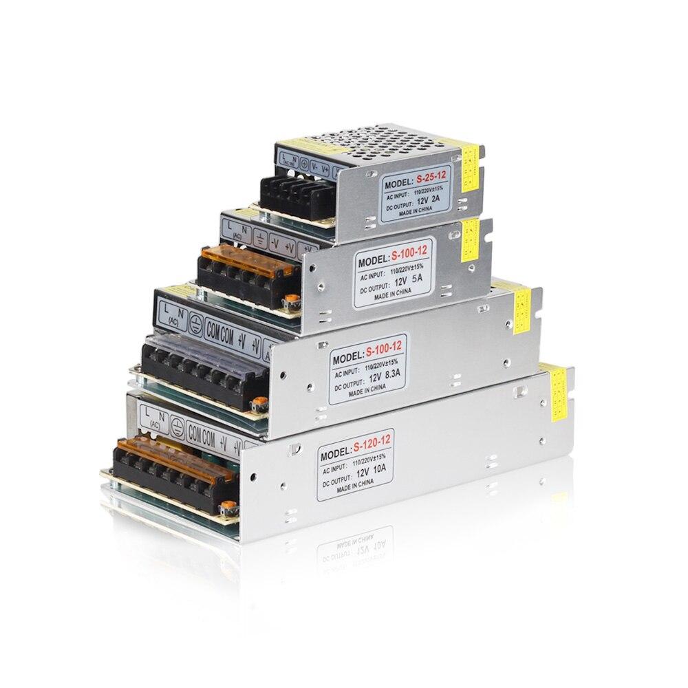 Led-treiber DC12V Beleuchtung Transformator Netzteil für LED Streifen Licht Schalter Netzteil 5A 10A 20A 30A