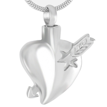 Stainless Steel Heart Shaped Urn For Ashes