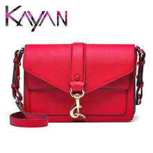 Luxury Genuine Leather Women Shoulder Bag Brand Design Real Leather Fashion Lady Bag Classical Messenger Bag Flap Crossbody недорго, оригинальная цена