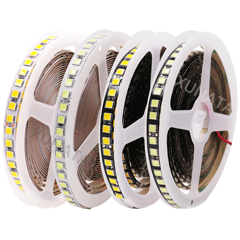 24V 5054 LED Strip 5M 120Leds/m High Quality Flexible Neon Tape Lights Waterproof Cold/Warm White Red Brighter Than 5050 5630