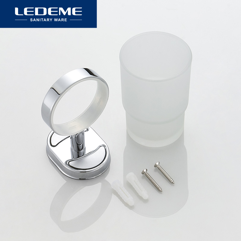Ledeme Bath Polish Acrylic Glass Cup Holders Cup Tumbler Holder Toothbrush Glass Single Cup Holder Bathroom Accessories L1906 Cup Tumbler Holders Aliexpress