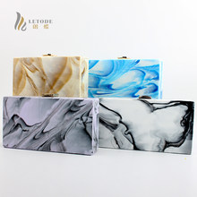 Hot Womens Crystal Acrylic Wedding Evening Party Lady Prom Clutch Bridal Purse Tote Wallet Handbag Shoulder Casual Crossbody Bag(China)