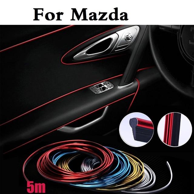 5m Car Cold Line Decoration Trims Strips Sticker For Mazda Demio La Mx 5 Proceed