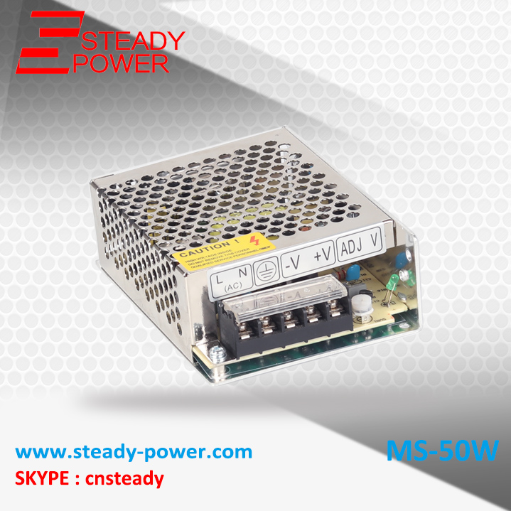 (MS-50-24) 24V 2.1A switching power supply, 85-264V AC input 5V DC output 50w led driver ms 50 24 24v 2 1a switching power supply 85 264v ac input 5v dc output 50w led driver