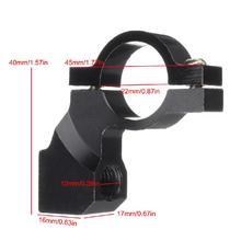 LumiParty 7-8″ Motorcycle Handlebar Mirror Adaptor Holder Clamp On Mount Brackets