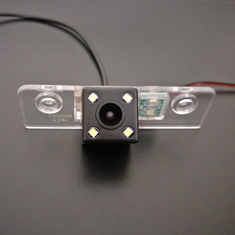 Car Rear View Camera For Ford Fiesta ST / Classic / Ikon 2002~2008 / RCA Wire Or Wireless / HD Wide Lens Angle / CCD Night View