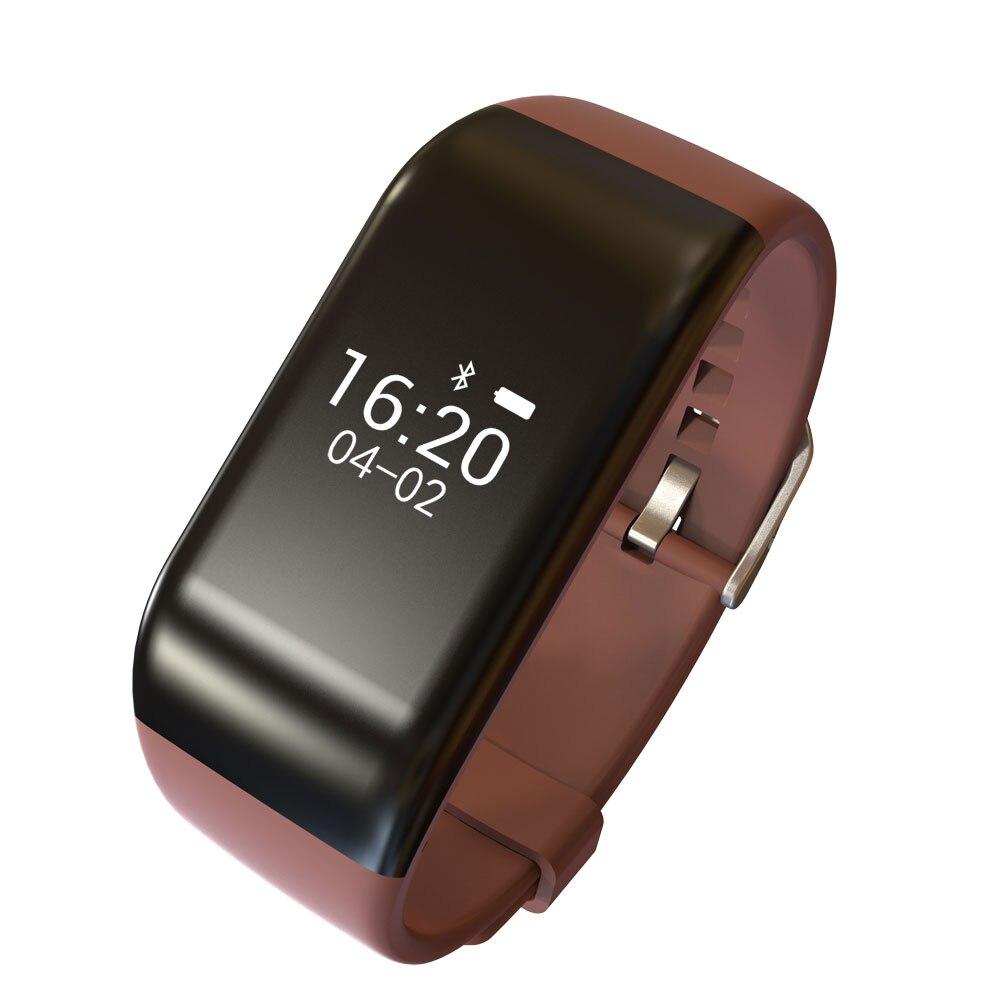 R1 Bracelet intelligent montre Bracelet OLED moniteur de fréquence cardiaque Sport Fitness Tracker Fitness appel alerte pour Iphone Android podomètre