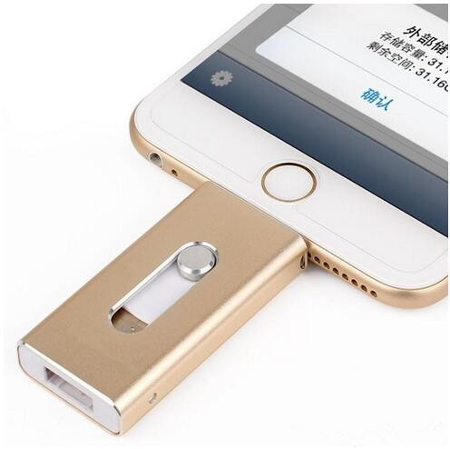For Lightning flash drive 8gb 16gb 32gb Usb Pen Drive 6 Language Otg Usb Flash Drive For iPhone 5/5s/6/6s Plus/ipad memory drive