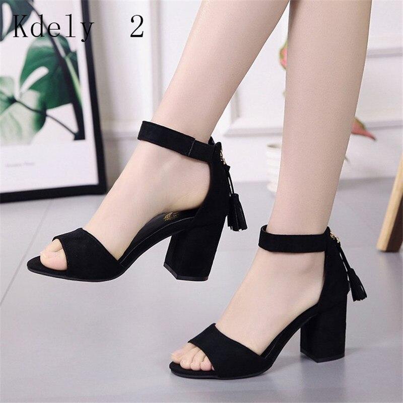 Women Ankle Strap Heels Print Sandals Summer Shoes Women Open Toe Chunky High Heels Dress Sandals Pumps