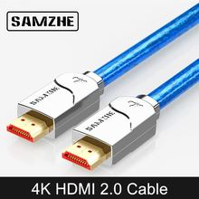SAMZHE 4K UHD HDMI Cable High Resolution Digital Cable 3840*2160 HDMI for Laptop and TV Box Connect to Big Screen Displayer цена и фото