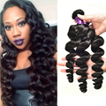 Bundle Deals Brazilian Loose Wave Virgin Hair Human Hair Extensions Siyo Virgin Hair Brazilian Loose Wave Virgin Hair 3 Bundles