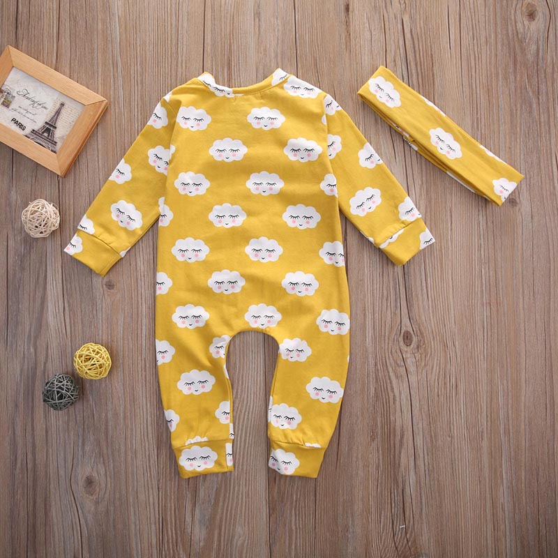 HTB1mIWlafvsK1Rjy0Fiq6zwtXXat Pudcoco Girl Clothes Newborn Infant Baby Kids Girls Clothes Jumpsuit Romper Outfits Set