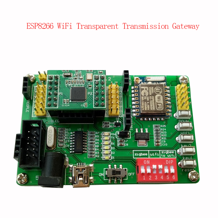 CC2530 Development Board ZigBee-wifi Transparent Gateway ESP8266 Development Board