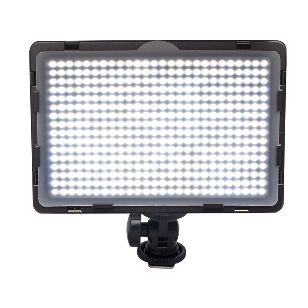 Mcoplus LED-410A CRI95 Ultra-thin LED Lighting for Canon Nikon Pentax Panasonic Sony Samsung Olympus DSLR Camera