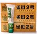 Peca No. 2 Whitening Cream contado crema crema de la peca remover pigmento y en el clavo ungüento