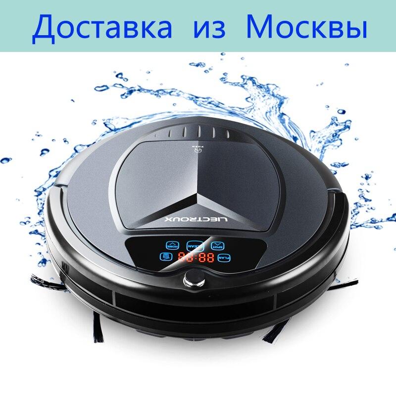 (Доставка из Москвы) LIECTROUX B3000PLUS робот пылесос с танком для воды (влажная и сухая уборка) сенсорный экран, фильтр HEPA,моющий бак ,виртуальная ст...