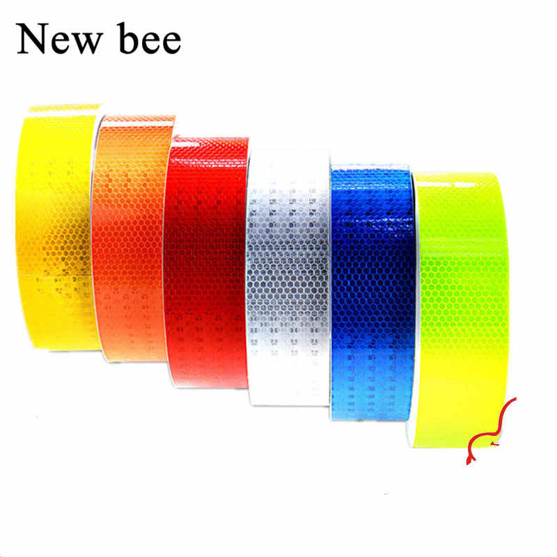 Newbee 3M Car Styling Sticker Safety Mark Warning Tape Automobile Reflective Strip Film Motorcycle Decal Truck Bike Baby Car
