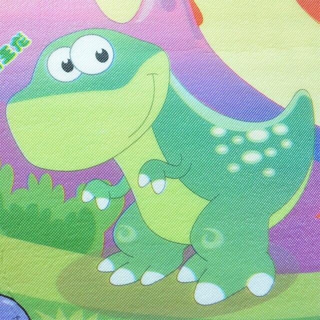 Mata do zabawy dla dzieci o grubości 0.5cm mata dla niemowlęcia podwójna powierzchnia dziecko dywan dywan zwierząt samochód + dinozaur dla rozwijających się mata dla dzieci pad do grania