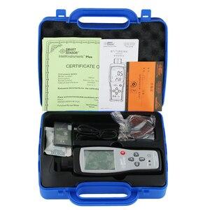 Image 5 - 스마트 센서 핸드 헬드 암모니아 가스 NH3 검출기 미터 테스터 모니터 범위 0 100PPM 사운드 라이트 알람 가스 분석기 AR8500