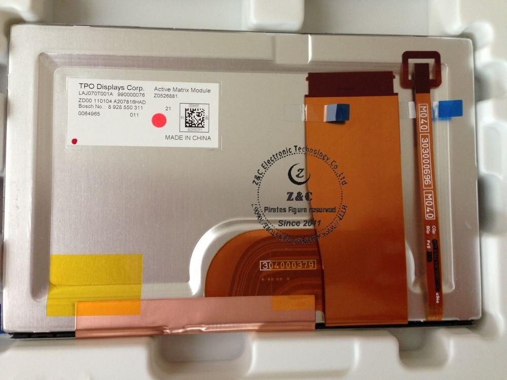 LAJ070T001A 7 дюймов для автомобиля gps навигация ЖК-дисплей для TPO