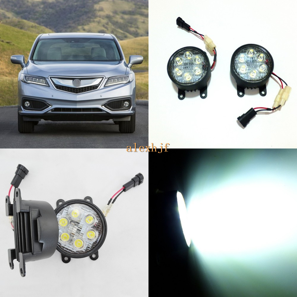 July King 18W 6LEDs H11 LED Fog Lamp Assembly Case For