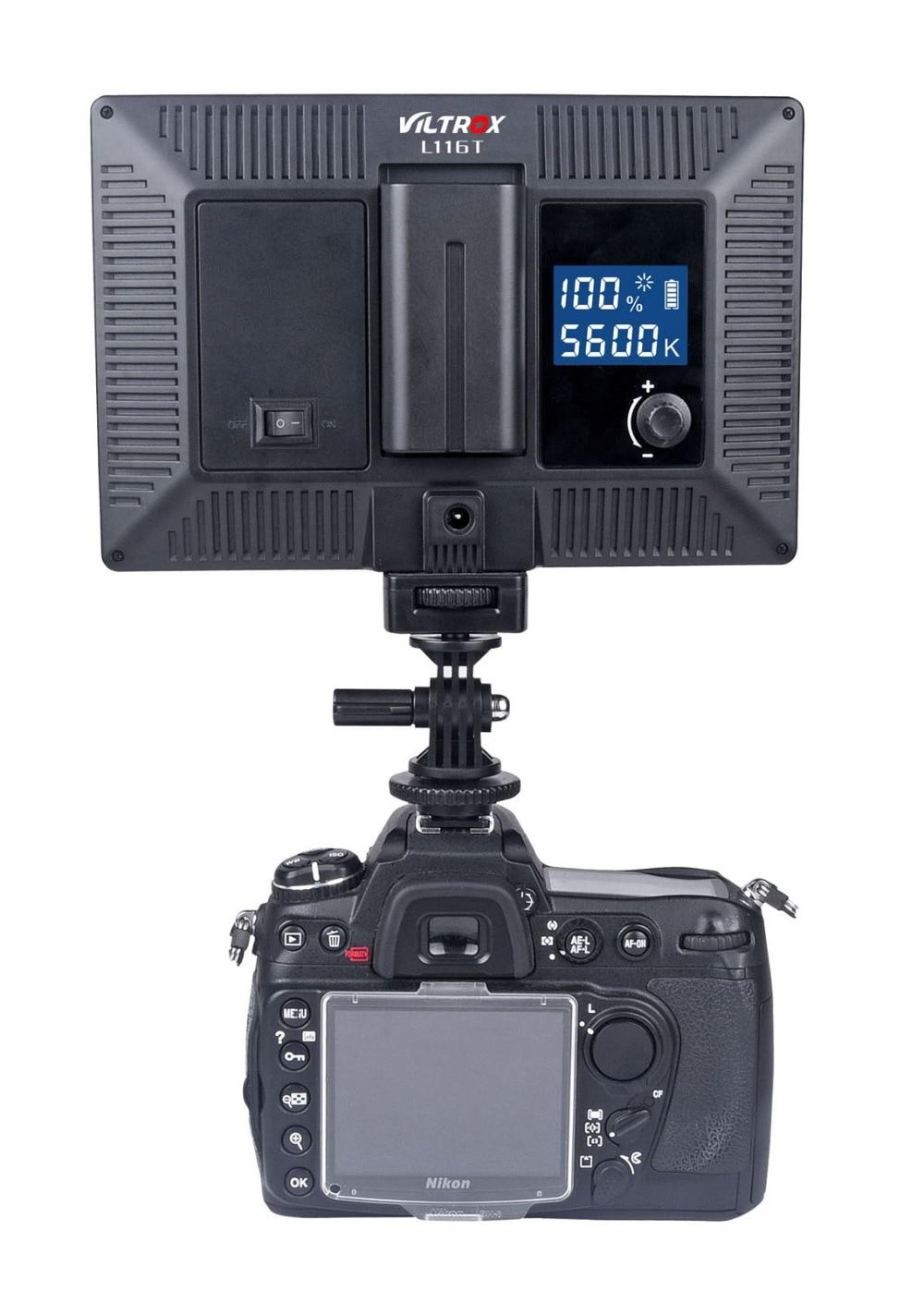 Viltrox L116T LCD-Display zweifarbig und dimmbar schlankes - Kamera und Foto - Foto 5
