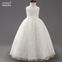 Sunny Eva Children S Prom Dress Sleeveless Ankle Length Princess Evening Dresses For Girls Children Dress