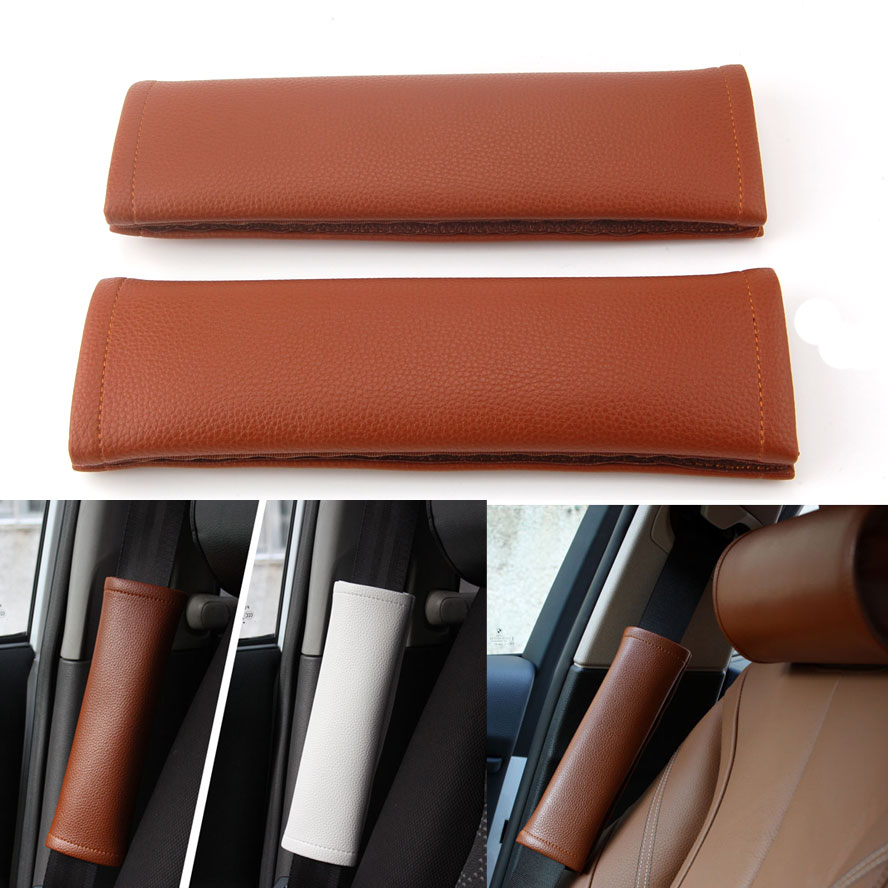 Car interior material - Brown Leather Car Interior