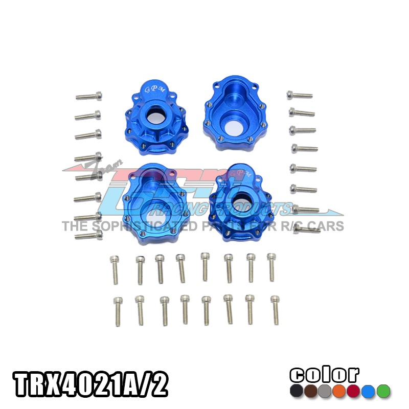 TRAXXAS TRX-4 TRX4 82056-4 Aluminum alloy front / rear outer portal drive housing with stainless steel screw - set TRX4021A/2 front gear box housing complete set drive