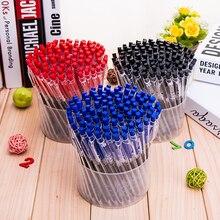 Пресс автоматический отскок синий черный красный шариковая ручка Ручки Карандаши Написание Поставки Творческие студенты подарок канцелярские принадлежности Z8019