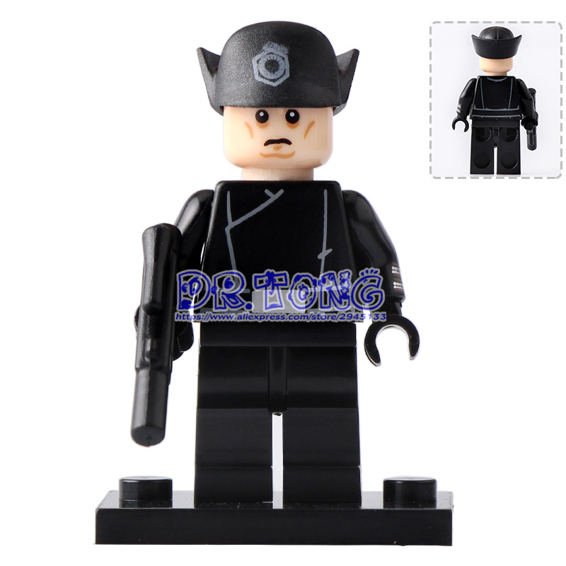 DR.TONG Single Sale PG704 Star Wars The First Legion Commander Luke Skywalker Grand Admiral Thrawn Building Blocks Toys Gifts