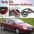 Bumper Lip Deflector Lips For Citroen C5 Front Spoiler Skirt For Car Lip Fans to Car View Tuning / Body Kit / Strip
