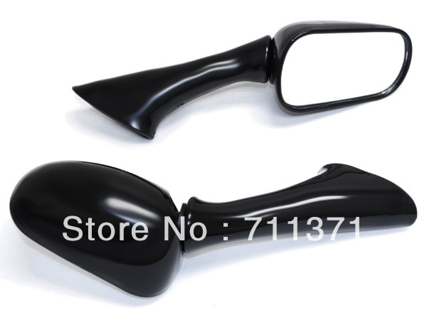 high quality Black Motorcycle Mirrors For 1991 1994 Honda CBR 600 F2 92 93